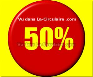 50% de rabais sur une deuxième annonce de La-Circulaire.com