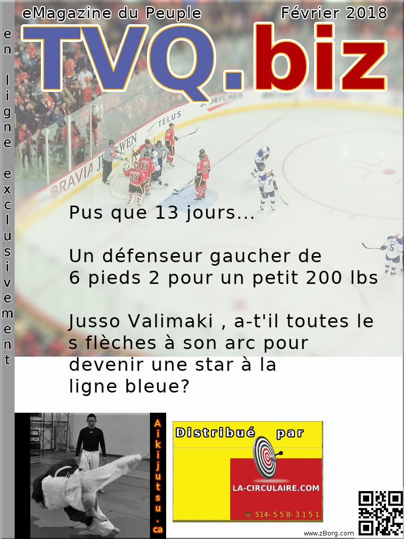 Un défenseur gaucher de 6 pieds 2 pour un petit 200 lbs: Jusso Valimaki