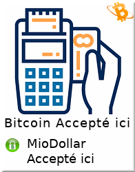 La-Circulaire: Bitcoin Accepted | On accepte Bitcon, MioDollar