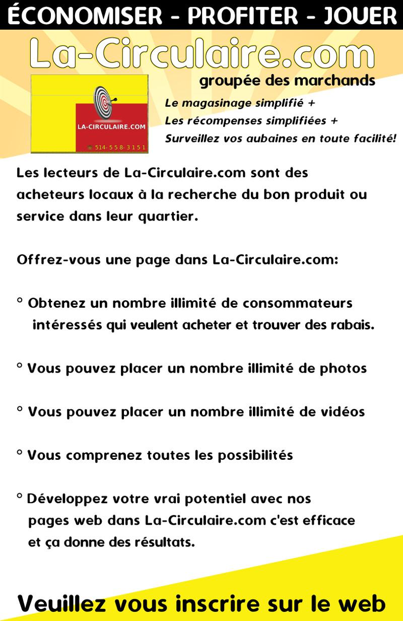 Commandez une page dans La-Circulaire.com