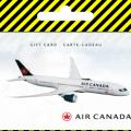Pour récompense, Carte-cadeau en ligne Air Canada online (livraison électronique)