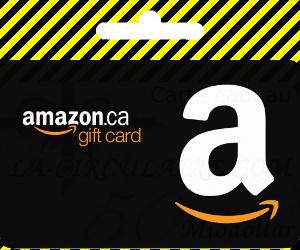 Pour récompense , Carte-cadeau en ligne Amazon.ca (livraison électronique)