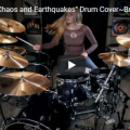 "Nonpoint ""Chaos and Earthquakes"" Drum Cover~Brooke C~"