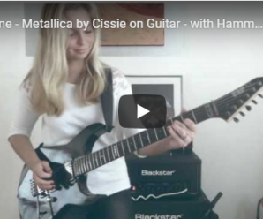 One – Metallica by Cissie on Guitar – with Hammett solo MULTICAM HD