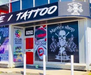 Tatouage Marty's shop montreal