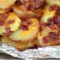 Des patates sur le barbecue prêtes en quelques minutes