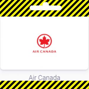 Carte cadeau Air Canada