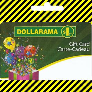 Carte cadeau | Dollorama